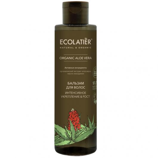 ECL GREEN Бальзам для волос Интенсивное укрепление & Рост Серия ORGANIC ALOE VERA, 250 мл