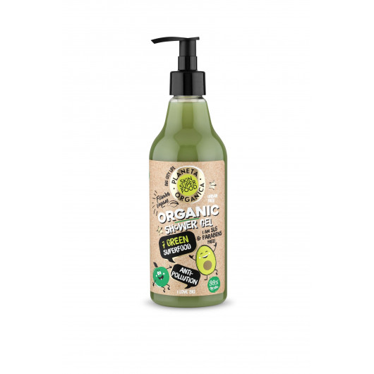 Гель для душа PLANETA ORGANICA Skin Super Food «Anti-pollution», 500 мл